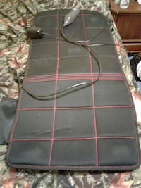 black and red massage mat Jeannette, 15644