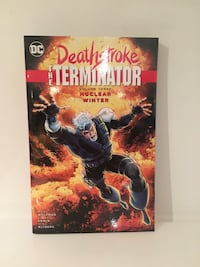 Deathstroke Graphic novel DC comics