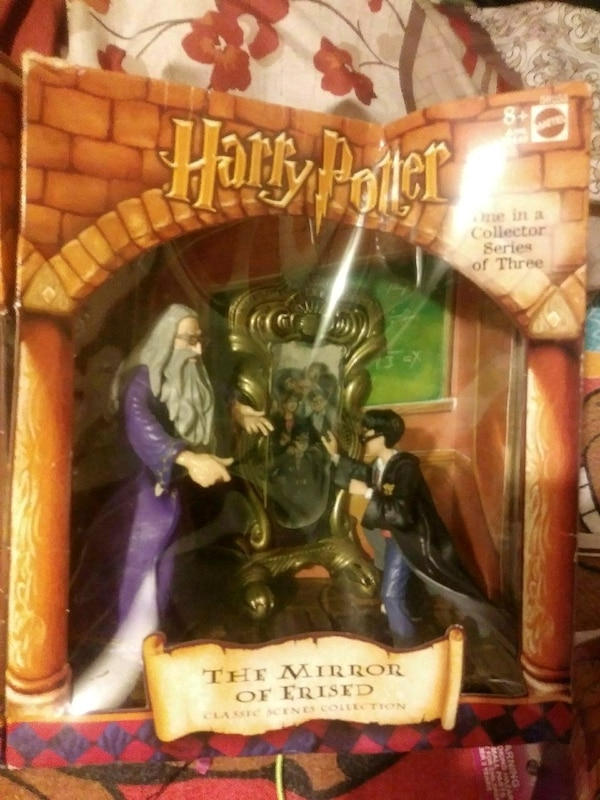Harry Potter The Mirror of Erised classic scenes collection figure box