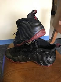 pair of black-and-brown Nike Air Foamposite One shoes Atlanta, 30318