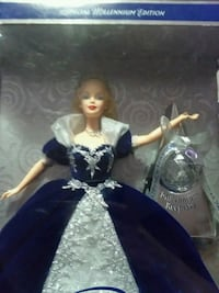 1st edition millennium princess barbie Hastings, 55033