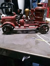 Antique toy fire truck