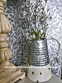 Galvanized Chippy Paint Pitcher Farmhouse Styled Sicklerville, 08081