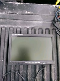 "7"" tft color monitor with wires"