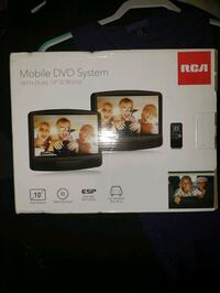Mobile DVD TV system