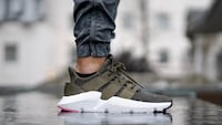 Olive green Adidas Prophere Indio, 92201
