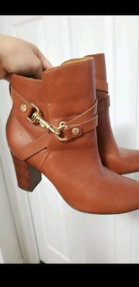 Isola cognac booties sz 6.5m Ellicott City, 21042