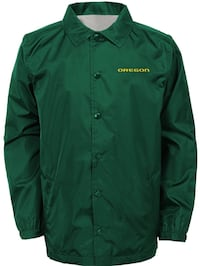 Oregon Ducks mens Coaches Jacket Eugene, 97402