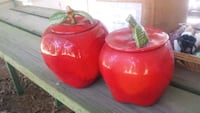 Apple porcelain containers Snow Hill, 28580
