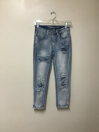 """Women's HIPPY LAUNDRY distressed skinny jeans…26"""""""