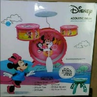 baby's pink and blue activity saucer box 2225 mi