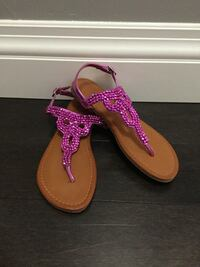 New Girl's size 3 sandals Kitchener, N2R 0B5