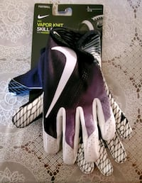 Nike Vapor Knit Skill Football Gloves, Size Large New