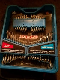 Channel lock wrenches