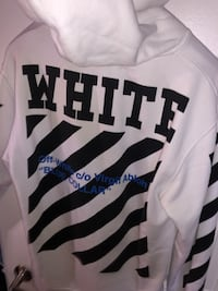 OFF-WHITE BLUE COLLAR Hoodie