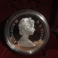 1984 Silver Dollar (not in case shown this is for picture purpose only) in 2x2 Edmonton