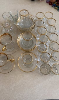 22 Glass and 4 turkish espresso cups  District Heights, 20747