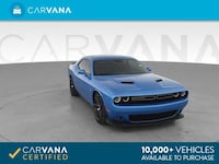 2016 *Dodge* *Challenger* R/T Scat Pack Coupe 2D coupe Blue Fort Myers