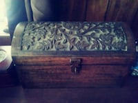 brown and black wooden chest box Panama City, 32405