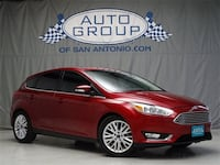 2017 Ford Focus Ruby Red Metallic Tinted Clearcoat San Antonio, 78232