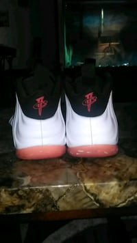 pair of white Air Jordan basketball shoes Lincoln, 68521