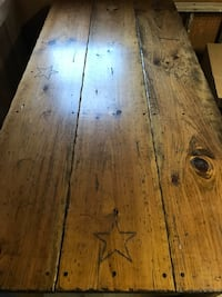 Beautiful Handcrafted Kitchen table for sale! With benches and stools! Williamsport
