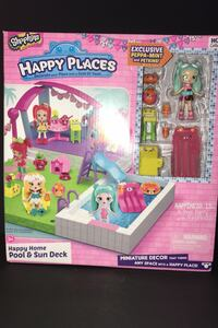 Shopkins Happy Places - Happy Home Pool & Sun Deck Warren, 48092
