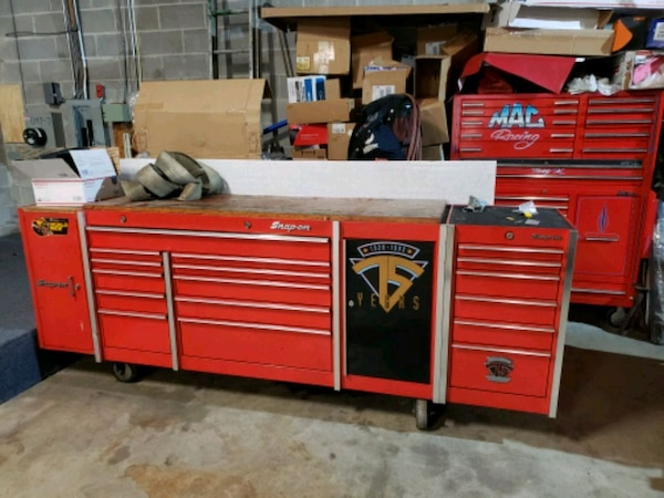 Brilliant Snap On Toolbox With Bench Top Side Cabinets Uwap Interior Chair Design Uwaporg