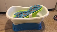 baby's white and blue bather Kitchener, N2E 3J8