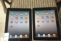 2 Apple iPad 1 Gen Wi-Fi + (Unlocked) 9.7in Space Gray Silver Spring, 20910