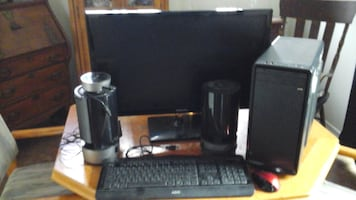 complete desk top computer