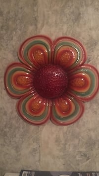 red, beige and green ceramic flower decor Killeen, 76542