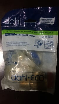 Dahl mini ball valve plastic pack Vaughan, L6A 3E7