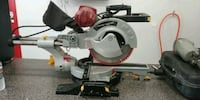 "12"" sliding miter saw with laser"