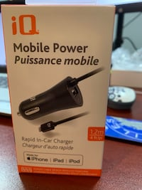 Brand new iPhone car charger
