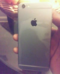 silver iPhone 6 with black case Alexandria, 22312