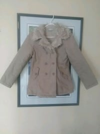 brown button-up coat Thorold, L2V 2W9