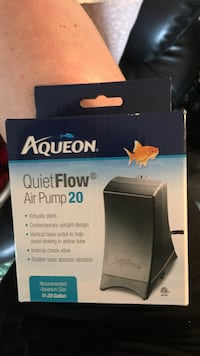Unopened Quietflow Airpump 20 Sarnia, N7S 4P4