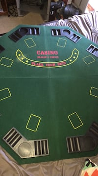 green and black poker table Sycamore, 60178
