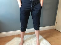 Navy joggers, size small Sherwood Park, T8A 2H9