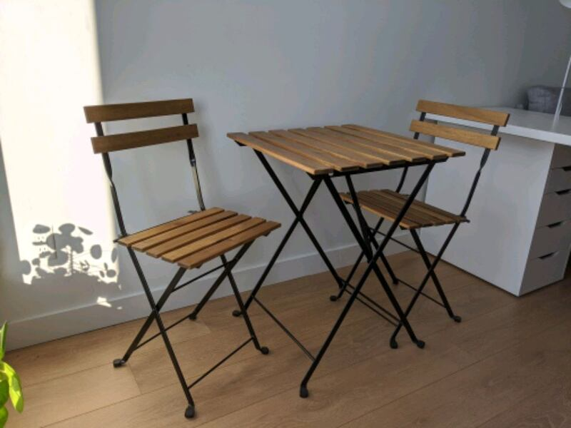 Sold Ikea Tarno Outdoor Bistro Set In