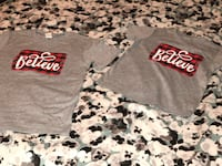 'BELIEVE' Holiday Tees in Adults, Kids & Toddler Sizes! PM ME! Wichita, 67208