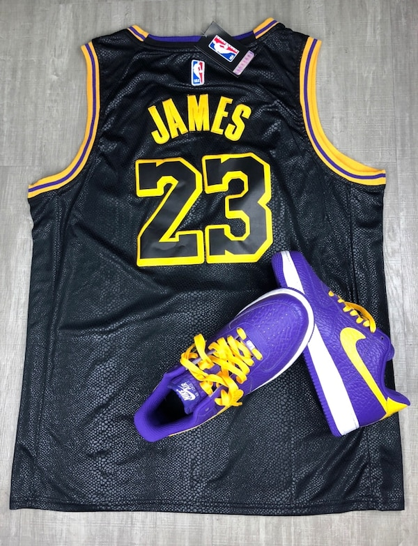 5c771939696 Used Lakers jerseys James xl-xxl for sale in Los Angeles - letgo