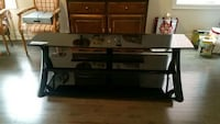 Tempered glass flat screen TV Stand mint condition