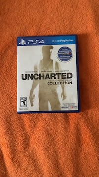 Uncharted The Nathan Drake Collection PS4 game case North Brunswick, 08902