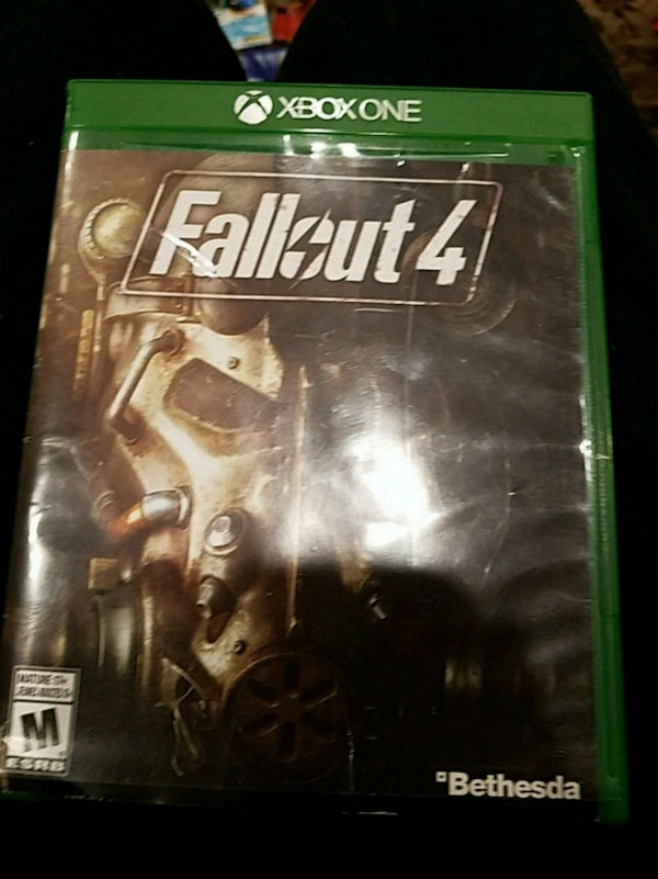 Xbox One Fallout 4 game case