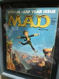 MAD poster with gray case Underwood, 58576