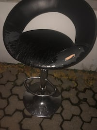 round black wooden table with two chairs Toronto, M4X 1P8