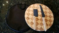 NEW Wooden Parkay Cheese Board with Accessories