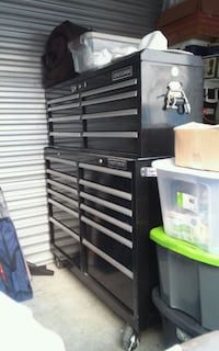 black and gray tool cabinet Winter Springs, 32708